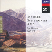 Mahler: Symphonies Nos.4 & 5 (2 CDs) Songs