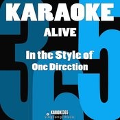 Alive (In The Style Of One Direction) [Karaoke Version] Song