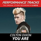 You Are (Medium Key Performance Track Without Background Vocals) Song