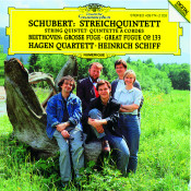 Schubert String Quintet In C Op Posth 163 D956 Beethoven Great Fugue In B Flat Major Songs