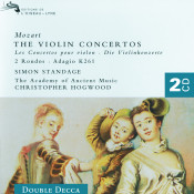 Mozart The Violin Concertos Songs