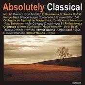 Bach: Branderburger Concerto No.3/Beethoven: Violin Concerto in D Major, Et Al. Songs