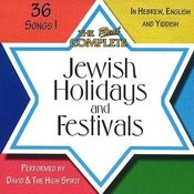 The Real Complete Jewish Holidays And Festivals Songs