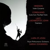 Hindson: Violin Concerto - Corigliano: Suite from The Red Violin - Liszt: Totentanz Songs