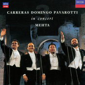 Carreras Domingo Pavarotti in Concert Songs