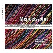 Mendelssohn - Concerto For Violin Piano & Orchestra In D Minor (Version With Winds And Timpani) Songs