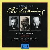 Songs Of Otto Luening Songs