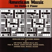 American Music For Violin & Piano Songs