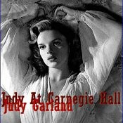 Judy At Carnegie Hall Songs
