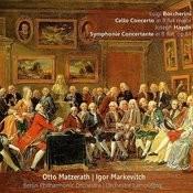 Boccherini: Cello Concerto In B-Flat Major - Haydn: Symphonie Concertante In B-Flat, Op. 84 Songs
