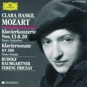 Mozart: Piano Concertos Nos.13 & 20; Piano Sonata K.280 Songs