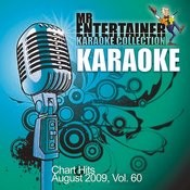 Karaoke - Chart Hits August 2009, Vol. 60 Songs