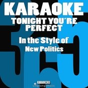 Tonight You're Perfect (In The Style Of New Politics) [Karaoke Version] Song