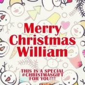 Merry Christmas William - A Special #christmasgift For You Songs