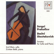 Shostakovich/Prokofiev: Music For Cello And Piano Songs