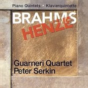 Brahms & Henze: Piano Quintets Songs