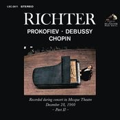 Sviatoslav Richter Plays Prokofiev, Debussy And Chopin - Live At Mosque Theatre (December 28, 1960) Songs