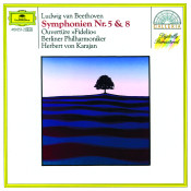 Beethoven: Symphonies Nos.5 & 8; Overture Fidelio Songs
