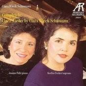 Completely Clara: Lieder By Clara Wieck Schumann Songs