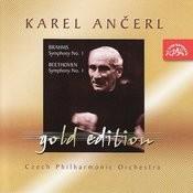 Ančerl Gold, Vol.9: Brahms: Symphony No. 1/Beethoven: Symphony No. 1 Songs