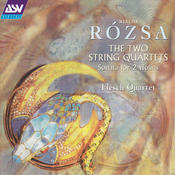 Rozsa: The 2 String Quartets Songs