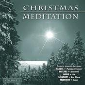 Christmas Meditation - Vol. 2 Songs