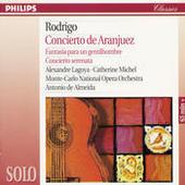 Rodrigo: Concierto de Aranjuez; Fantasía para un gentilhombre; Concierto serenata Songs