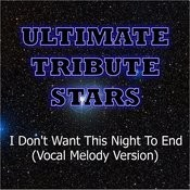 Luke Bryan - I Don't Want This Night To End (Vocal Melody Version) Songs