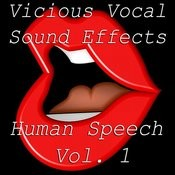 Vicious Vocal Sound Effects 3 - Human Speech Vol. 1 Songs