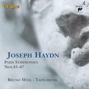 Haydn: Paris Symphonies Nos. 85 - 87 Songs
