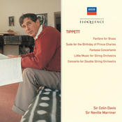 Tippett: Fanfare For Brass; Suite For The Birthday Of Prince Charles; Fantasia Concertante Songs