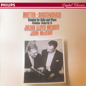 Britten/Shostakovich: Cello Sonatas//Prokofiev: Ballade, Op.50 Songs