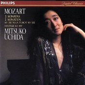 Mozart: Piano Sonatas Nos. 11 & 12/Fantasia in D minor Songs