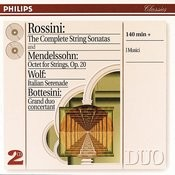 Rossini: String Sonatas/ Wolf: Italian Serenade//Mendelssohn: Octet (2 Cds) Songs