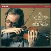 Bach, J.S.: 3 Sonatas & Partitas for Solo Violin Songs