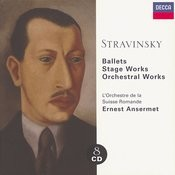 Stravinsky: Ballets/Stage Works/Orchestral Works (8 Cds) Songs