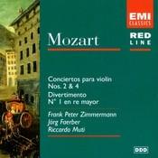 Mozart: Violin Concertos Nos. 2 & 4 - Divertimento No. 1 Songs