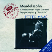 Mendelssohn: Symphony No.3; A Midsummer Night's Dream Songs