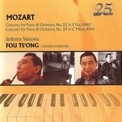 Mozart: Concerto For Piano And Orchestra Nos. 22 & 24 Songs