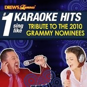 Drew's Famous # 1 Karaoke Hits: Sing Like Music Award Nominees 2010 Songs