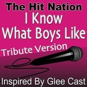 I Know What Boys Like (Glee Cast Tribute Version) Song