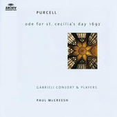 Purcell: Ode For St. Cecilia's Day; My Beloved Spake; O Sing Unto The Lord Songs