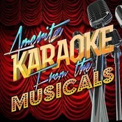 Karaoke From The Musicals Songs