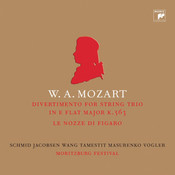 Mozart: Divertimento Songs