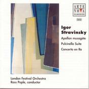 Stravinsky: Apollon Musagete / Pulcinella Suite Songs