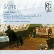 Satie: Piano Music Songs