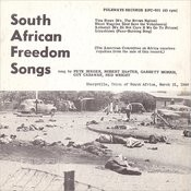 Folkways Records Presents: South African Freedom Songs Songs