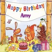Happy Birthday Amy Songs