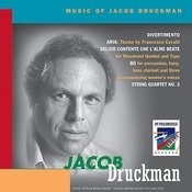 Druckman: Music Of Jacob Druckman (Surveyed) Songs