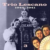 The Italian Song - Trio Lescano, Volume 3 Songs